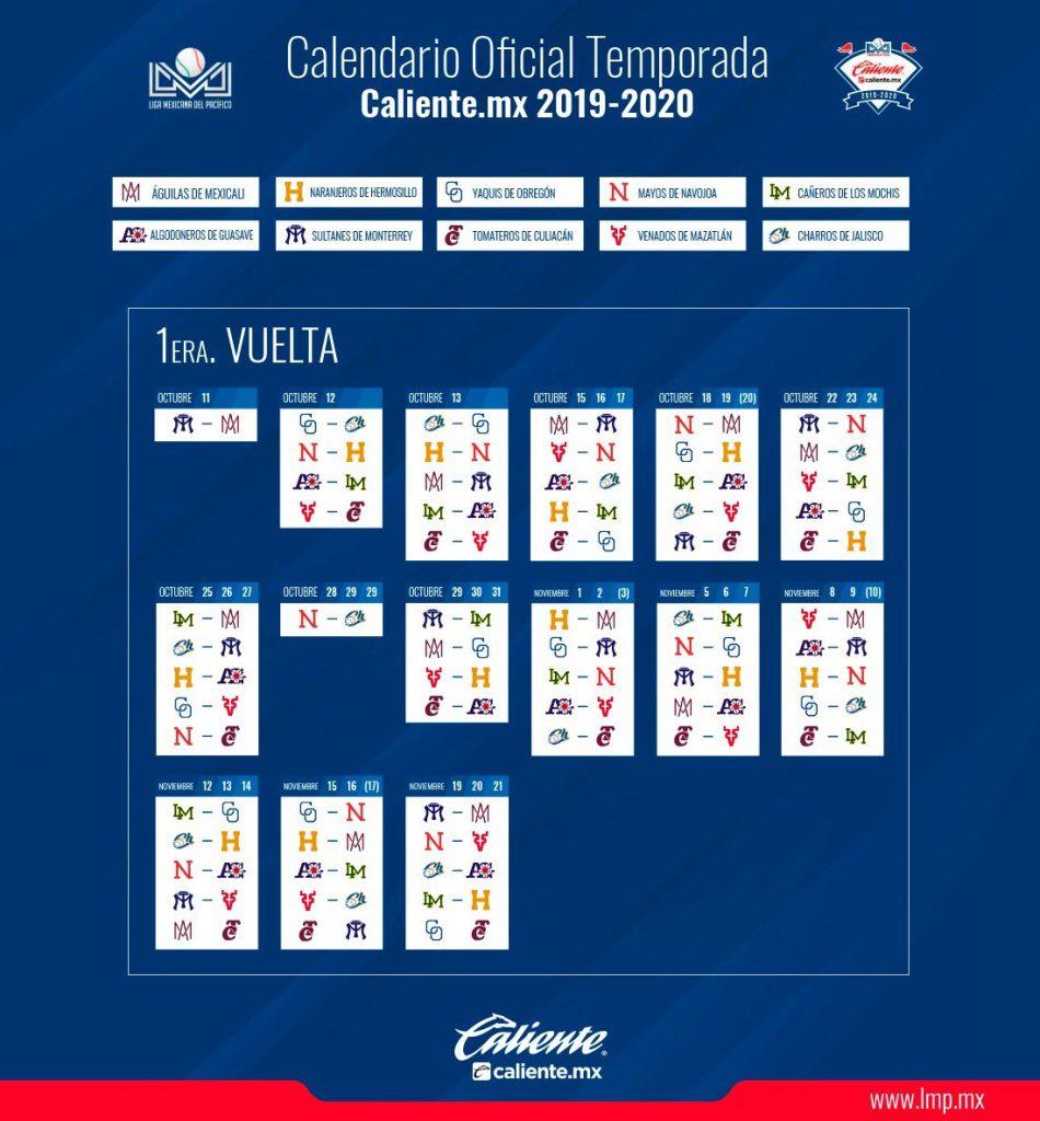 Calendario La Liga 2019.Lmp Define Su Calendario Puro Beisbol